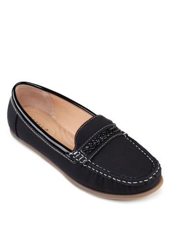 編織帶莫卡辛鞋, 女鞋,zalora 心得 船型鞋