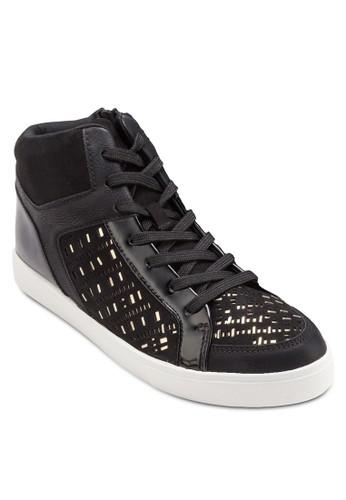 Bondo 高筒繫帶休閒esprit分店鞋, 女鞋, 鞋