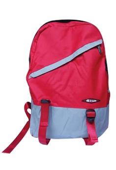 Sroute Dual Color School Bag BackPack BP-D1 (Red/Grey)