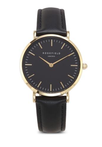 buy rosefield the tribeca black black gold watch zalora hk