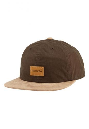 Nixon brown Nixon - Wrangler Snapback Hat - Brown (C2442400) NI855AC30RSZSG_1
