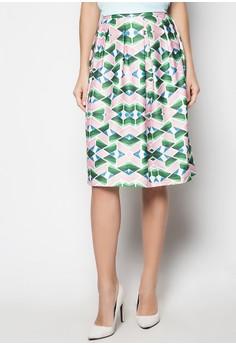 Cody Pleated Tea Skirt