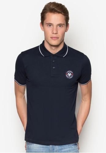 Soccer Motif Polo Shirt