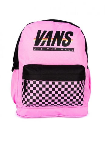 Vans pink Sporty Realm Plus Backpack E7F28ACD9F69A0GS_1