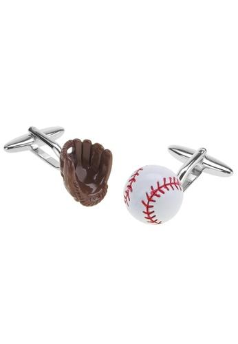 CUFF IT multi Baseball Glove Mitt and Ball Cufflinks 538E2ACF1124A1GS_1