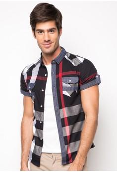 Orlando Short Sleeve Checkered Buttondown Shirt
