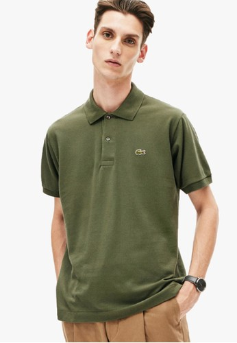 Lacoste green Men's Classic Fit L.12.12 Polo Shirt B5B88AAD21446AGS_1