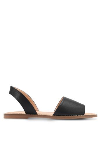 Alfio Raldo black Casual Sandals AL803SH0SL2SMY_1