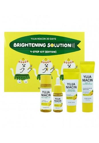 SOMEBYMI Somebymi Yuja Niacin 30 Days Brightening Solution 4-STEP Kit (Toner 30ml +Serum 10ml +Sleeping Mask 20g + Suncream 25ml) 693BBBED28D6B0GS_1