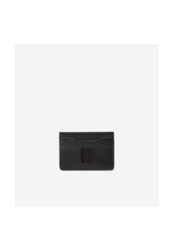 Cole Haan black Cole Haan Smooth Leather Card Case - Black 91276ACA23B275GS_1