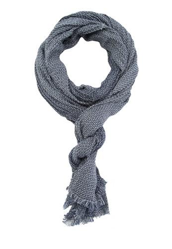流蘇針織男士圍巾、 飾品配件、 飾品配件ESPRIT流蘇針織男士圍巾最新折價
