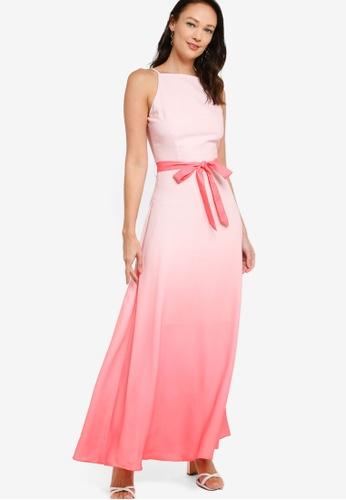 ZALORA OCCASION multi Ombre Maxi Dress 46D84AA63D22A4GS_1