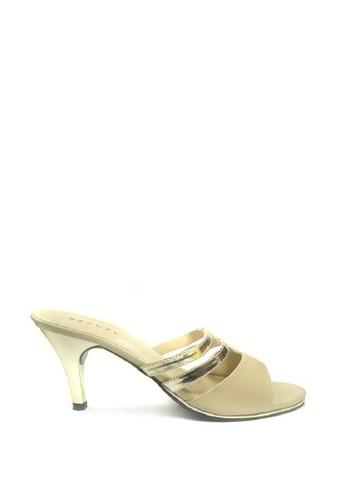 Beauty Shoes beige Beauty Shoes Tamar 336 Heels Cream 4D027SH36EE5D7GS_1