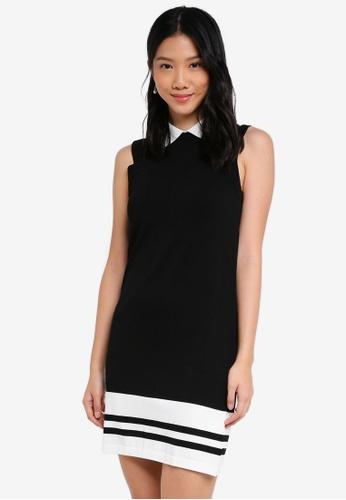 ZALORA black Bodycon Knitted Dress 331E4AA6350406GS_1
