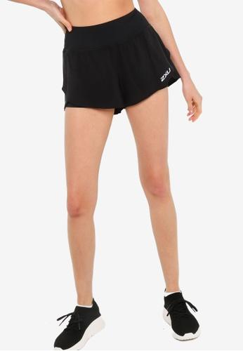 2XU black XVENT 3 Inch Layer Shorts 7BB26AA0FC9447GS_1