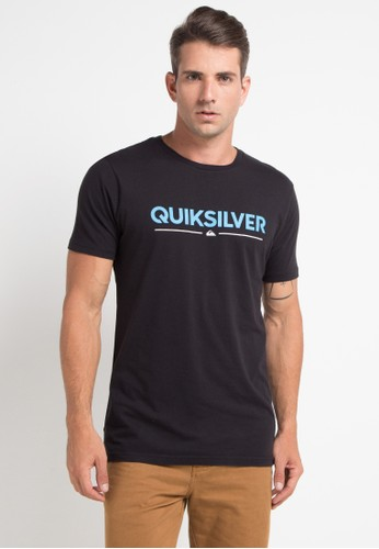 Quiksilver black and multi As Wordmark T-Shirt 7921CAABE473D6GS_1