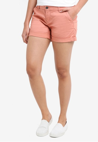 ONLY pink Paris Chino Crop Shorts C4520AAE186AE1GS_1