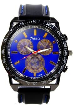 Nanci Donatelo Rubber Strap Watch 9107-2