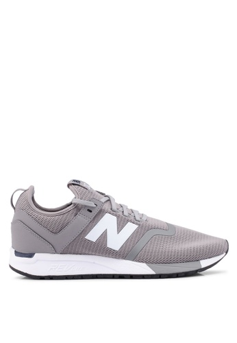 New Balance grey 247 Deconstructed Lifestyle Sneakers FB76CSHD532D53GS_1