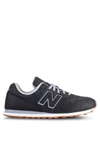 New Balance black 373 Modern Classics Lifestyle Sneakers NE323SH0RHBTMY_1