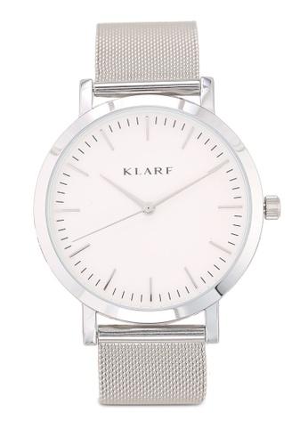 Klarf silver Classic Watch With Mesh Bracelet FADFDACE1C820DGS_1