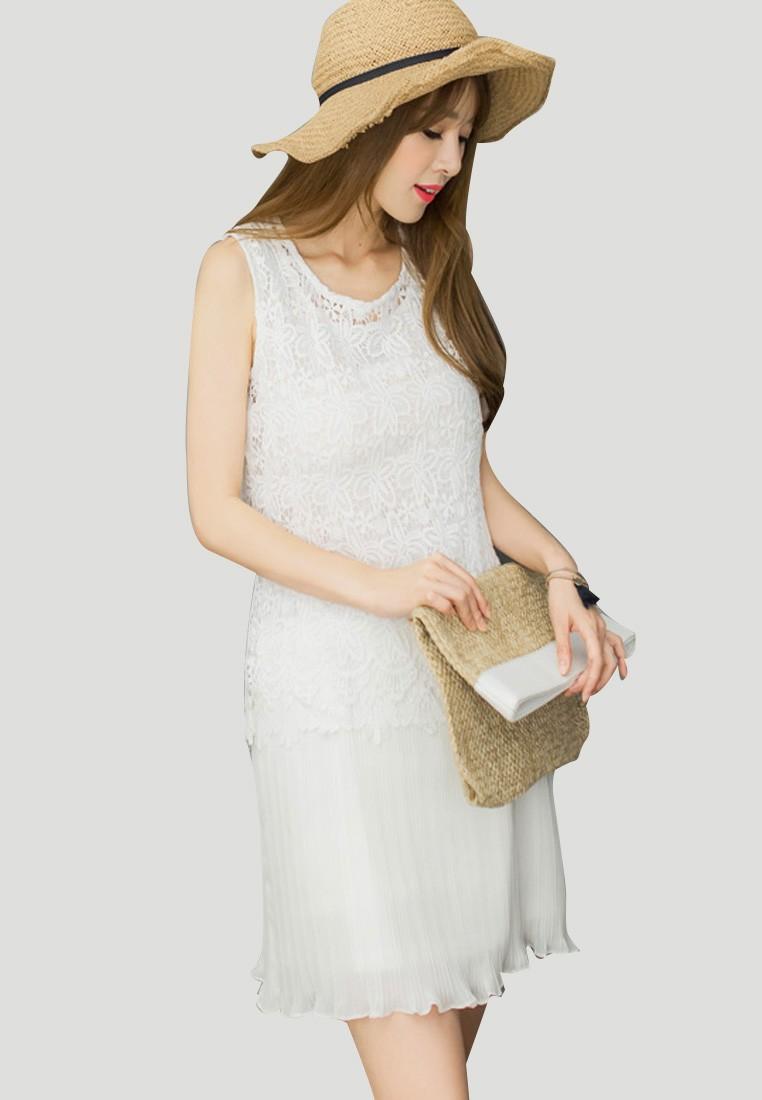 Lacey Gorgeousness Dropwaist Dress