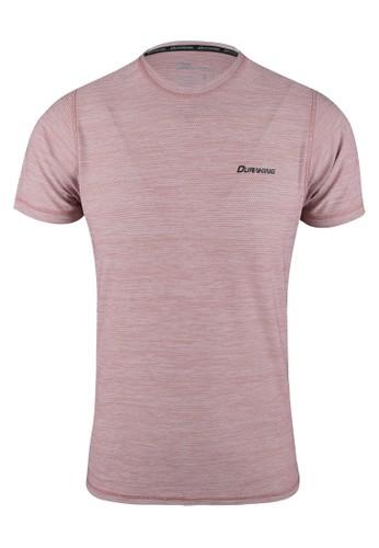 Duraking pink DK Running Jersey SS (Man) Basic Color Tee Dusty Pink 8E3D4AA62D46E3GS_1