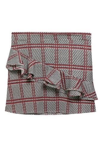 Appleberry black and red Skirt Elsa 72189KA90005DAGS_1