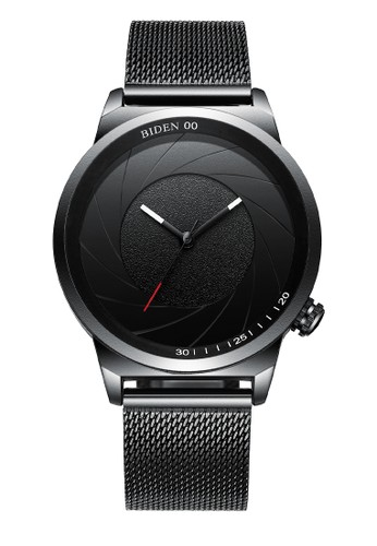Biden Watch black Jam Tangan Pria BIDEN YN0109 Design Keren dan Eksklusif AllBlack-WD AEB3FAC11C8853GS_1