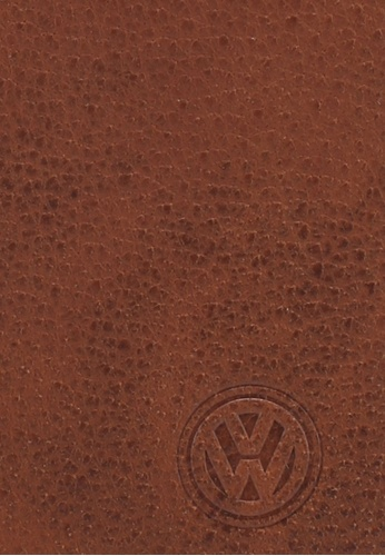 Volkswagen brown Volkswagen Genuine Leather Wallet F052DAC07F2BC1GS_1