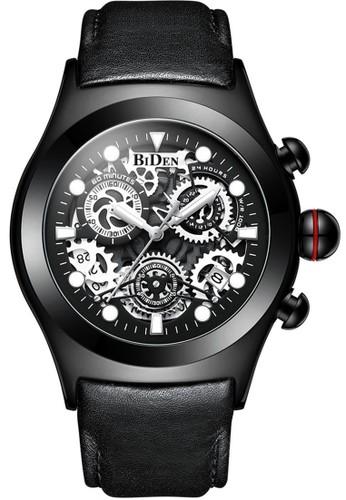 Biden Watch black Jam tangan fashion pria Biden dirancang agar tahan lama, minimalis, rapat