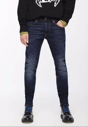 Diesel blue Skinny Slim Thommer Jeans-Den DE3CFAAAE4891EGS_1