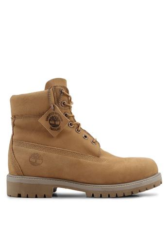 Timberland beige 6-Inch Premium Boots 6070BSH03ABEF3GS_1