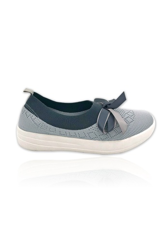 Unifit grey Unifit Knitted Flats 8000FSH01AE5C0GS_1