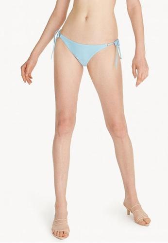 dd097c0af9b Shop Pomelo Tie Side Bikini Bottom - Baby Blue Online on ZALORA Philippines