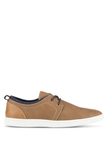Call It Spring brown Mattatia Derby Shoes CA512SH0SFDEMY_1