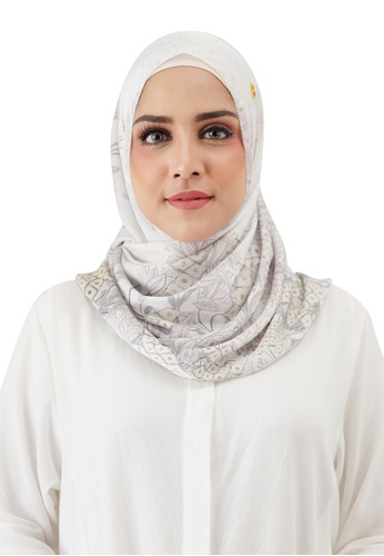 Buttonscarves white Buttonscarves Maharani Twistant White 5F5CBAAF362933GS_1