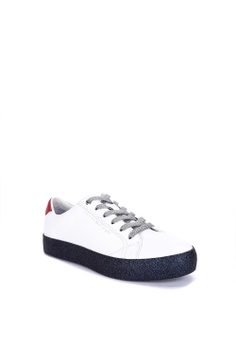 74a7068c892 Tommy Hilfiger Glitter Dress Snake Sneakers Php 8,450.00. Sizes 36 37 38 40