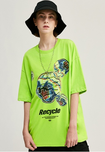 Twenty Eight Shoes Trend Printed Short T-shirt 1283S20 168B9AAD4FBD00GS_1