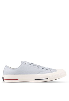 82a9d196eeb Converse grey Chuck Taylor All Star 70 Ox Sneakers CO302SH0SW7SMY 1