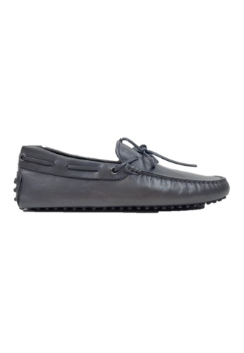 TOD'S grey TOD'S CLASSIC LOAFERS 74258SH74D18A4GS_1