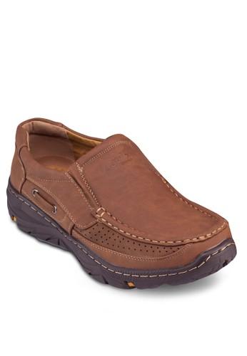 esprit 高雄沖孔厚底樂福鞋, 鞋, 鞋