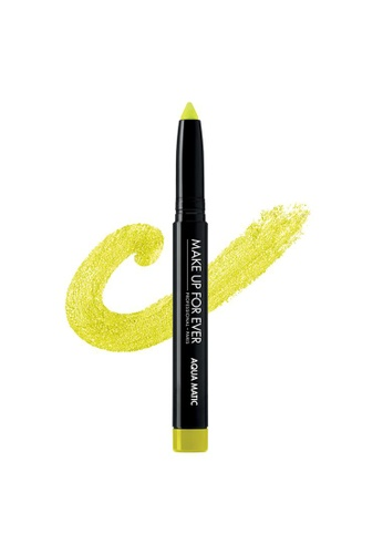 MAKE UP FOR EVER green AQUA MATIC - Waterproof Glide-On Eye Shadow1.4G I-30 5EB2ABE4A9DF87GS_1