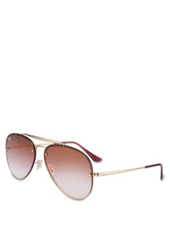 Ray-Ban 金色 Ray-Ban RB3584N Sunglasses 529B4GLBE21E2BGS_1