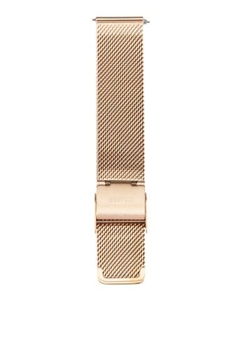 CLUSE gold La Boheme Mesh Rose Gold Watch Strap CLS047 CL977AC0RDCLMY_1