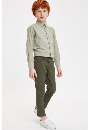 DeFacto green Boy Woven Bottom Trousers 81883KA7577499GS_1