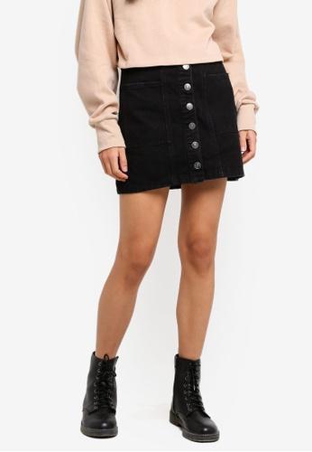 893957129 Shop Supre Olsen Button Through Mini Skirt Online on ZALORA Philippines
