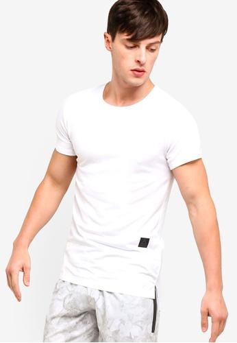 Reebok 白色 短袖訓練T恤 D5565AA301032CGS_1