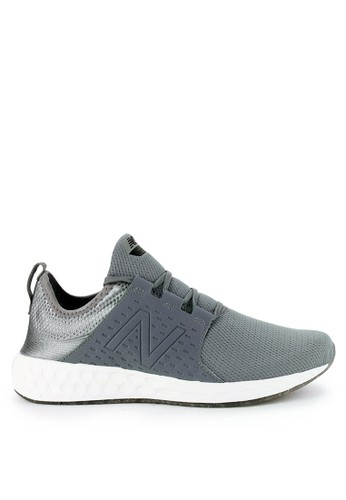 New Balance grey Fresh Foam Cruz D5FBCSH5B67437GS_1