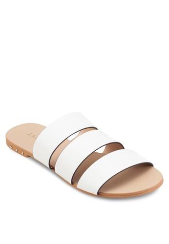 多帶寬帶拖鞋, 女鞋, esprit hong kong鞋
